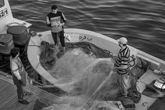 The Fisherman (PinoyOpsJawo) Tags: people streetphotography street beach summer fiserman work job mono monochrome photography photographer nikonphotography nikon nikond5300 50mm niftyfifty blackandwhite bw sea ocean