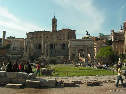 Римський форум, Рим, Італія InterNetri Italy 497