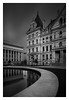 (bprice0715) Tags: canon canoneos5dmarkiii canon5dmarkiii architecture architecturephotography blackandwhite blackwhite bw monochrome mono lowkey longexposure city cityscape albanyny albany leefilters leebigstopper buildings