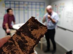 Brownie slice made by D-Mac's girlfriend (avlxyz) Tags: cake brownie sweet dessert food stephen david fb