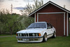 (LLOVGREEN) Tags: bmw 635 635csi shark e24 6series car spring springtime bbs rs vehicle outdoor nature white varsinaissuomi goldenhour sunset settingsun appletreeblossom blossom flora park parked