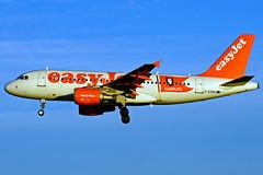 G-EZBG  A319-111 Easyjet Hamburg  Barcelona-El Prat  08-01-2016 (Antonio Doblado) Tags: gezbg a319 319 easyjet hamburg airbus barcelona elprat aviación aviation aircraft airplane airliner