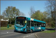 Arriva The Shires 3754, Knightsfield, WGC (Jason 87030) Tags: arriva shires knightsfield wgc work welwyngardencity blue turquoise 3754 mx61avz 300 hemelhempstead