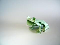 Rana de Zaragoza - Fernando Castellanos (Rui.Roda) Tags: origami papiroflexia papierfalten sapo rã frog grenouille rana de zaragoza fernando castellanos