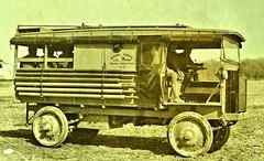 Signal Corps Radio Tractor No. 2 on the road  ca1918 NARA165-WW-511A-010 (SSAVE over 11 MILLION views THX) Tags: ww1 worldwari signalcorps usarmy 1918 communications radio tacticalradio wireless