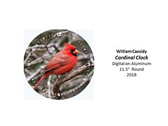 """Cardinal Clock • <a style=""""font-size:0.8em;"""" href=""""https://www.flickr.com/photos/124378531@N04/40839486295/"""" target=""""_blank"""">View on Flickr</a>"""