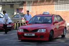 Proton Taxi (CooverInAus) Tags: kota kinabalu sabah borneo malaysia number registration license taxi plate proton