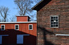 The Barns (dr_marvel) Tags: barns wood red windows pittsford ny new york canal erie eriecanal