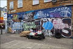 Various... (Alex Ellison) Tags: throwup throwie southlondon urban graffiti graff boobs time osv