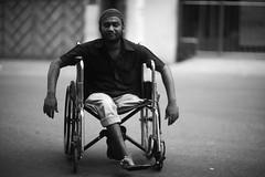 SOHAIL (N A Y E E M) Tags: sohail youngman beggar disabled wheelchair portrait friday afternoon street chatteshwariroad chittagong bangladesh carwindow