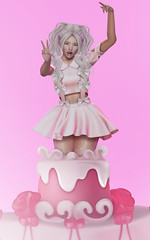 Let there be cake (Natsumi Xenga) Tags: catwa hanako maitreya session ling asian japan japanese kawaii cute cake exile lovefool ersch grl