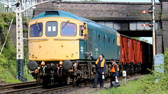 All change (Duck 1966) Tags: gcr 33035 crompton class33 emrps goods train diesel locomotive