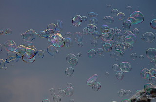 Vol de bulles