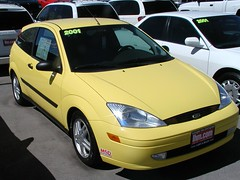 2001 Ford Focus ZX3 (D70) Tags: 2001 ford focus zx3 6442 miles 5 spd manual
