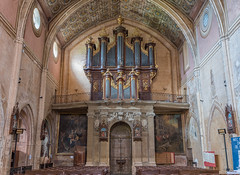 Saint-Félix-Lauragais.l'orgue de 1780. (sergeimbert) Tags: saintfelixlauragais eglises lauragais hautegaronne orgue