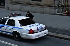 Midtown, New York, New York (Comiccreator24) Tags: digitalphotography nikonography youngphotographer d3400photographer pantherbody nikon nikonphotographer nikond3400 nikondslr nikond3400photographer p71 d3400 dslr march2018 streetphotography peoplephotography people peoplespotting nyc newyork newyorkcity manhattan policecar nypd ford crownvictoria fordcrownvictoria sedan street streetphotographynyc streetphotographynewyork 42ndstreet