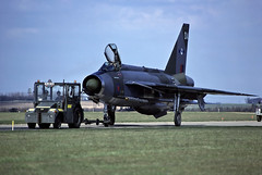 LIGHTNING  LTF  DA. (TF102A) Tags: kodachrome raf rafbinbrook lightning ltf aviation aircraft airplane englishelectric