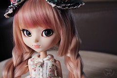 New eyes for Meredith (~ Melody and the dolls ~) Tags: pullip pullips doll dolls custom obitsu rewigged wig