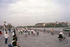 Beijing - China 1991 (wietsej) Tags: beijing china 1991 olympus om4 film srl analoge street people city