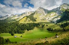 Chaine des Aravis (Johan FREIMANN) Tags: aravis landscape clusaz confins nikon d7000 trek rando