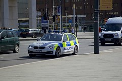 Merseyside Police (Terry Kearney) Tags: merseysidepolice policeman police policecar car vehicle road street sidewalk city cityscape liverpoolcitycentre canoneos1dmarkiv daylight day explore europe england flickr kearney landscape liverpool merseyside oneterry outdoor people terrykearney urban 2018 bmw sign building architecture