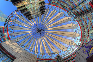 Sony Center - the dome - HDR - Detailed