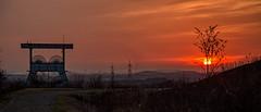 Zeche Ewald_6705 (berndfpunkt) Tags: sonnenuntergang sunset sundown sunsetlover industrielandschaft zeche bergbau coalmining ruhrgebiet