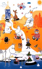 My own collection of Moomin postcards (Zaijda) Tags: moomin muumi mumin postcard postcardcollection colletion orange colourful colorful moominvalley moominfamily stickers stationary