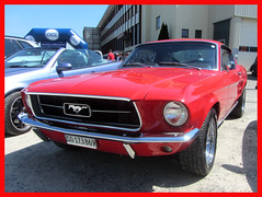 Ford Mustang Fastback, 1967 (v8dub) Tags: ford mustang fastback 1967 schweiz suisse switzerland bleienbach american muscle pkw pony voiture car wagen worldcars auto automobile automotive old oldtimer oldcar klassik classic collector