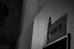 Mombello, 2018 (frederik89) Tags: lombardia lombardi manicomio manicomiodimombello manicomiodilimbiate gabinetto wc bagno bianconero bw blackandwhite exmanicomio decacy decadenza abbandonato nikon nikontop nikonlombardia nikonitalia photofede photophede mentalhospital urban urbanexploring mental hospital