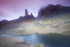 Mist on the Old Man of Storr (PeterYoung1.) Tags: atmospheric beautiful colours clouds highlights isleofskye landscape mountains mist nature oldmanofstorr peteryoung1 rocks scenic scotland scottish skye uk water