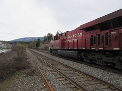 CPR freight (jamica1) Tags: cp cpr canadian pacific railway bc british columbia canada salmon arm shuswap railroad train locomotive