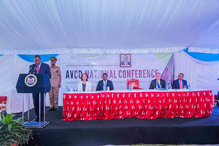 HE Uhuru Kenyatta, president of Kenya, addressing participants at the AVCD National Conference