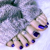 (pbass156) Tags: feet foot footfetish fetish toes toefetish paintedtoes painted pedicure toering