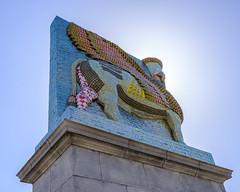 Fourth Plinth, Trafalgar Square (alh1) Tags: michaelrakowitz thefourthplinth theinvisibleenemyshouldnotexist trafalgarsquare england lamassu london