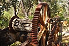Machinery, Heatherlie Quarry, Grampians, Victoria, Australia (Red Nomad OZ) Tags: grampians heatherliequarry machinery victoria australia grampiansnationalpark
