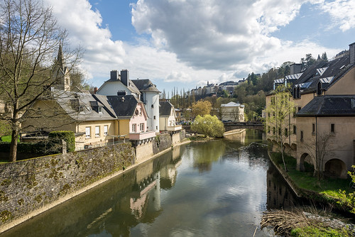 Luxembourg, on Alzette
