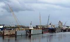 Drydocks, Tampa Shipyards (Hear and Their) Tags: ybor channel tampa florida cruise ship boat