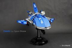 Paladin class Space Drone (Brick Martil) Tags: toy lego spaceship drone star trek transwarp united starfighter lancelot paladin