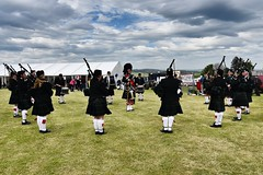 BA Vintage Country Fair - Aberdeen Scotland - 20/5/2018 (DanoAberdeen) Tags: pipeband bagpipes pipers bavintagecountryfair candid amateur aberdeen aberdeenscotland scottishcountryside countryside 2018 danoaberdeen metallicobjects heavymetal transport bluesky scottish scotch gala festival fair event abz abdn summer autumn winter spring clouds nikond750 haulage grampian outdoors public tractor farm farming scotland dunecht show tractors farmmachinery diesel engine charity northeast classic vintage agriculture freshair truck truckfest farmwork