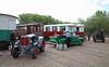 Divers transport (Maurits van den Toorn) Tags: tram tramway rtm ouddorp museum trammuseum trekker tractor schlüter chevrolet oldtimer classiccar