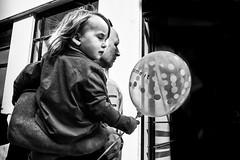 Images on the run... (Sean Bodin images) Tags: metropolight mitkbh voreskbh visualculture visitcopenhagen visitdenmark denmark documentary documentery delditkbh københavn copenhagen citylife candid city citypeople children closeup blackandwhite blackwhite amagertorv købmagergade