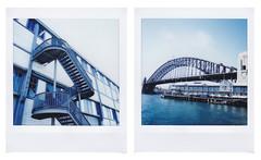 S T E E L (LEAHDELACRUX) Tags: sydney instax instaxsquare instaxsq6 instantphotography australia diptych