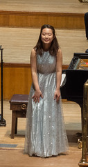 DSCN0710 Rhythmie Wong takes a bow after playing Chopin Piano Concerto No. 1. 13th May 2016. Assembly Hall, Worthing, UK. (Paul Ealing 2011) Tags: 4th sussex piano competition 13th may worthing england assembly hall symphony orchestra conductor john gibbons international 2018 rhythmie wong