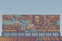 Mosaic Facade 2 (modaser) Tags: architecture art belarus belarustrip brest building cityscape design facade geometry horizontal insta lines mosaic socialistrealism sovarch soviet sovietmodernism sovietunion symetry ussr vertical брест ссср советскийсоюз союзсоветскихсоциалистическихр беларусь соварх союзсоветскихсоциалистическихреспублик