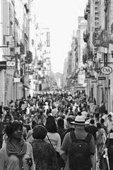 Rue Sainte-Catherine (just.Luc) Tags: france frankrijk frankreich francia frança bordeaux gironde nouvelleaquitaine people mensen gens street rue straat strasse bn nb zw monochroom monotone monochrome bw europa europe