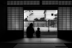20180519 holiday (soyokazeojisan) Tags: japan bw holiday blackandwhite family city digital olympus em1markⅱ 918mm 2018