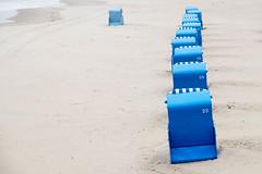 Strandkorb 22 (Rainer ❏) Tags: strandkorb beachchair ostsee balticsea usedom zinnowitz strand sand beach mecklenburgvorpommern blue blau color xt2 rainer❏