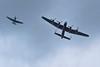Attacked In The Garden (abnormally average) Tags: lancaster bomber plane aircraft airdisplay backgarden flyby zooooooooooooom raf lincolnshire etc abnormallyaverage