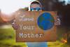 Love Your Mother (reclaimednj) Tags: 2018 nj earthday portrait sign vsco fujiastia100f